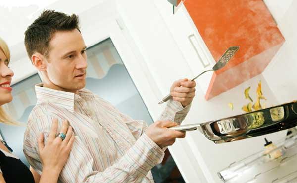 料理ができる男