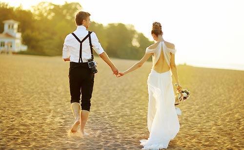 夕方の新婚
