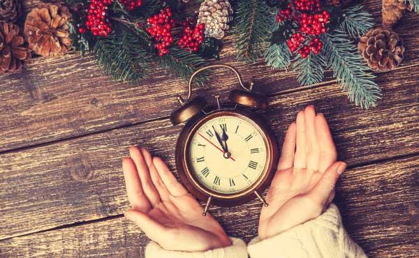 時間がかかることを示す時計