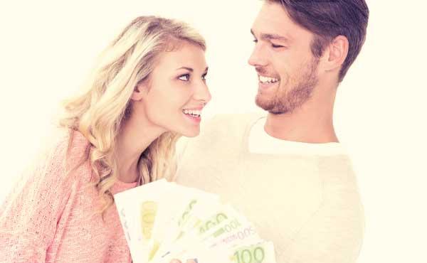 金銭感覚が一致して親近感が沸くカップル