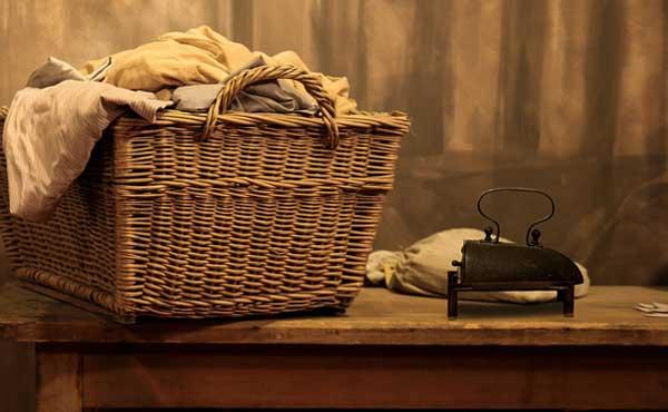 衣類の洗濯物