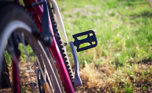 自転車のペダル