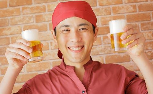 居酒屋の店員