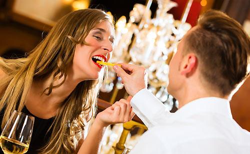 結婚記念日でのお食事