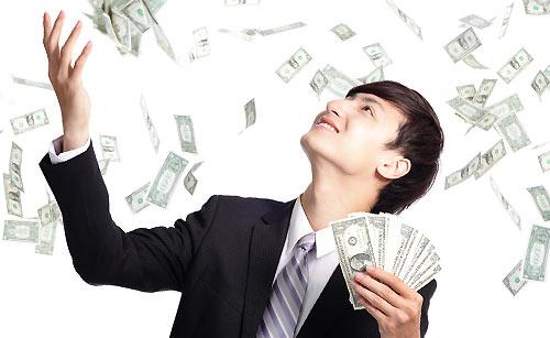 お金使いが荒い男性