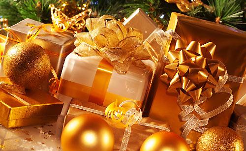 豪華なプレゼント