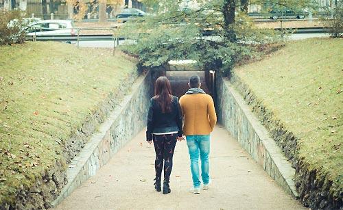 デートをしているカップル