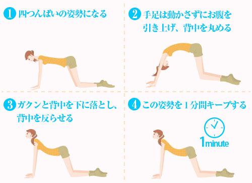 丸くなった肩を治すストレッチ方法