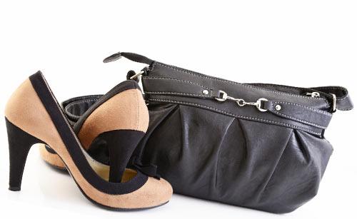 ブランド品の靴とバッグ