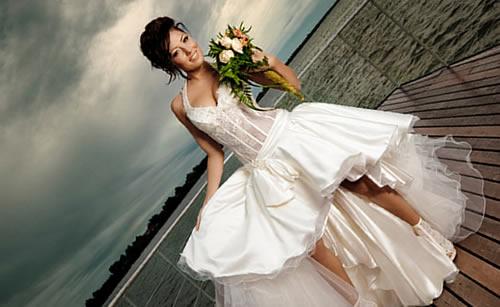 結婚に夢を馳せる女性