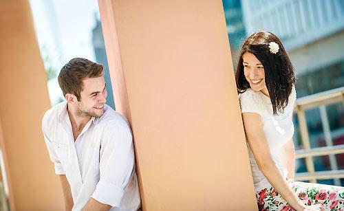 程よい距離感のカップル