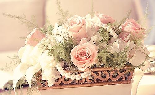 お花のインテリア