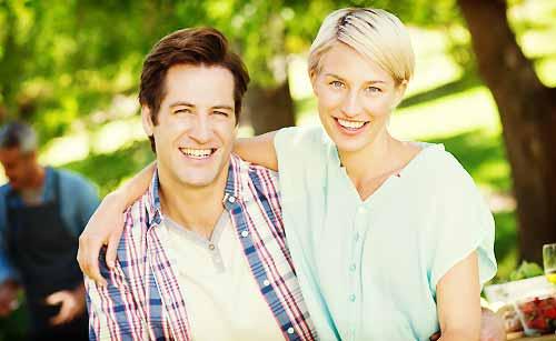若々しいカップル