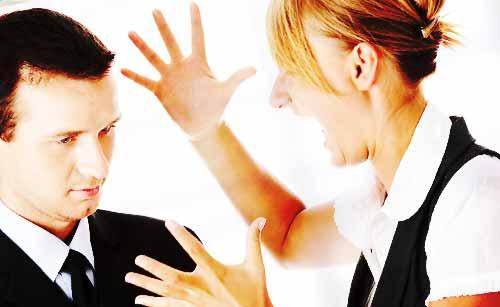 男性を威圧する女性