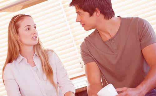安定した関係を築いているカップル