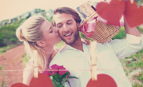 愛情表現豊かな女性