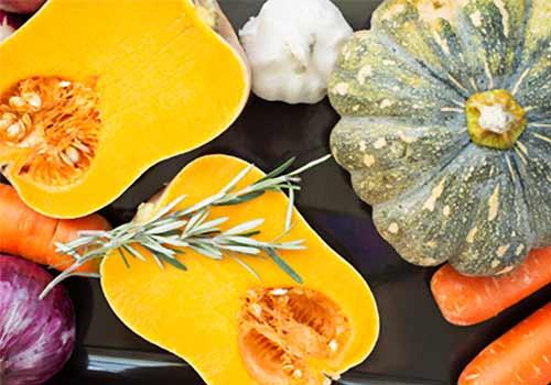 暖色の野菜