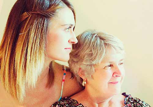 母親を尊敬する女性