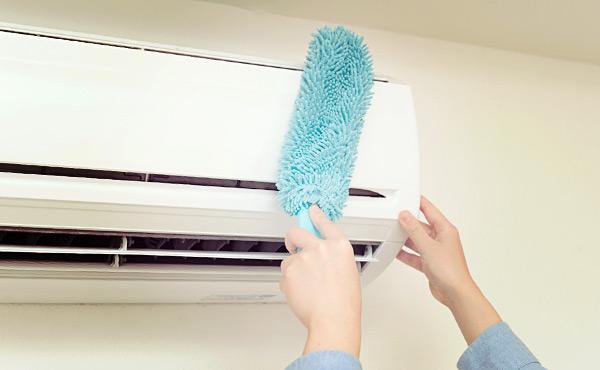 エアコン掃除を自分でする方法・汚れた空気がキレイになる