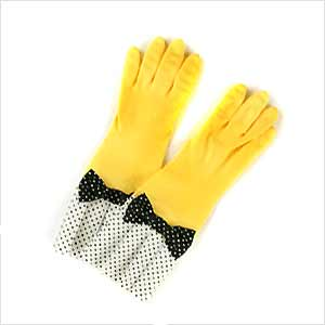 環境美装:ラブグローブのゴム手袋