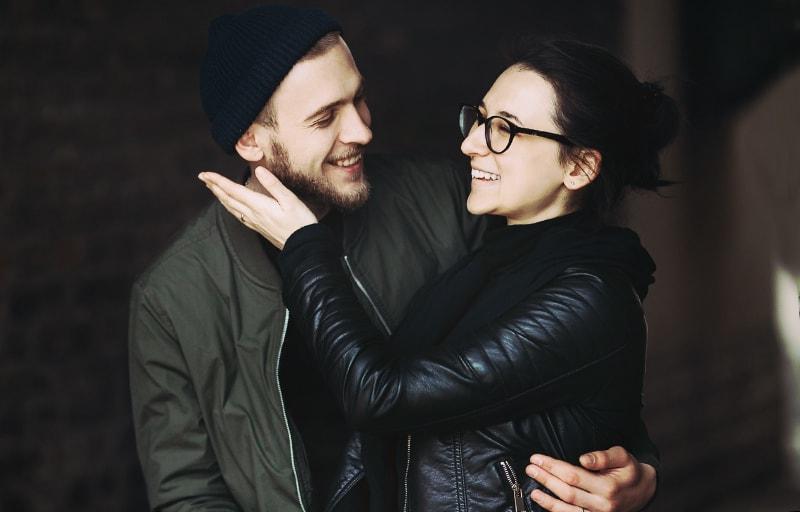 愛しあうカップル