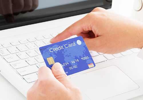クレジットカードをインターネットで使う