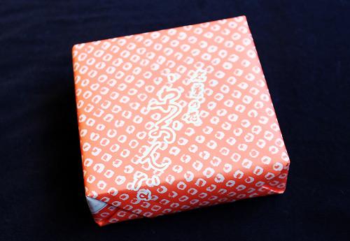 「京おんな」の包装紙