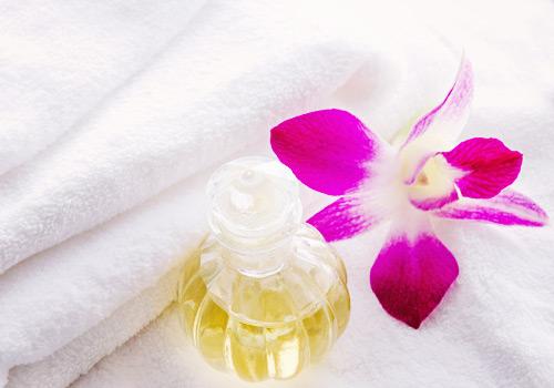 アロマの花と香水