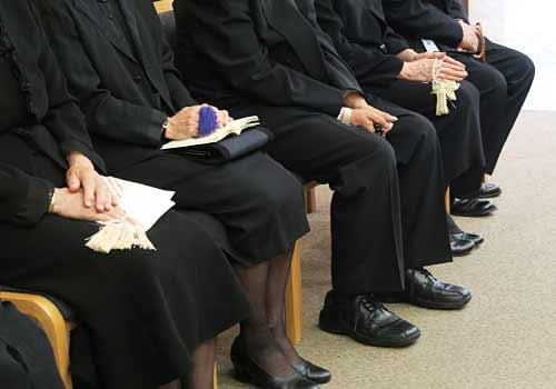 葬式での参列