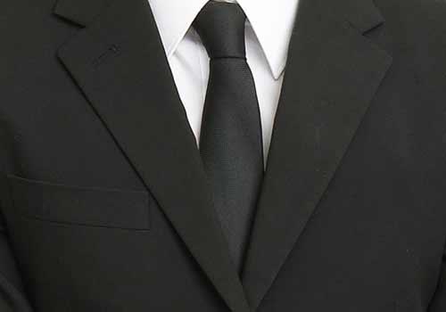男性のネクタイ