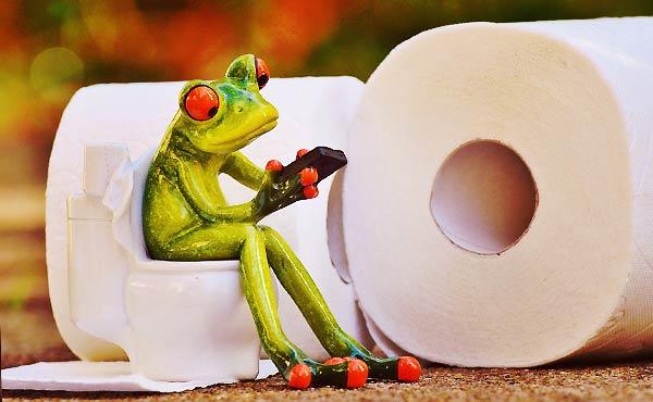 トイレットペーパー収納・見た目もスッキリとスマートに