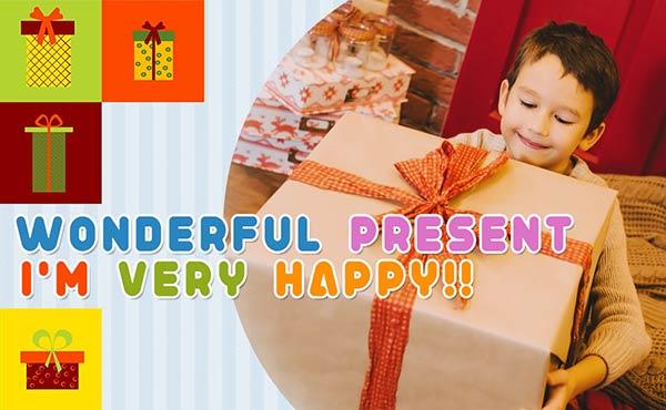 プレゼント男の子・0~16歳の子どもが笑顔になる贈り物