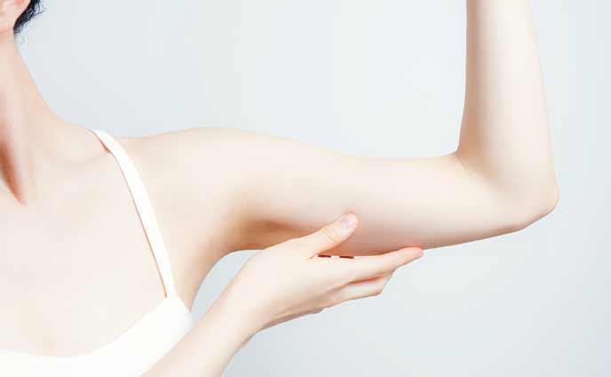 二の腕を細くするコツ・健康管理とストレッチが痩せる秘訣
