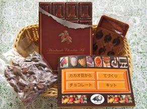 ダリ・ケーのカカオ豆から手作りチョコレート・キット