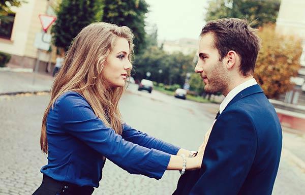 夫を拒否する女