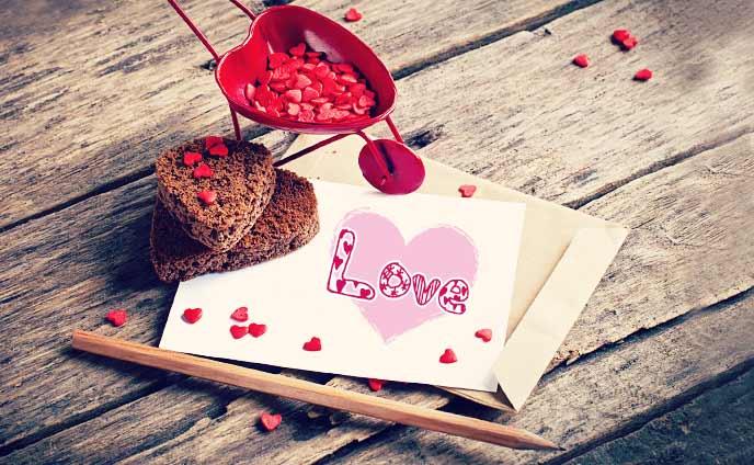 バレンタインメッセージ・彼へカードを贈る時のポイント