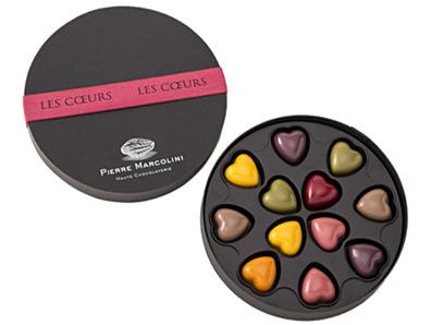 ピエール・マルコリーニのチョコレート