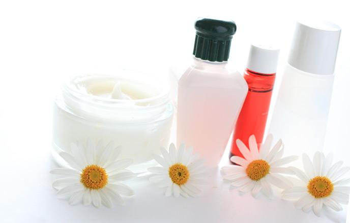 化粧水とハンドクリーム