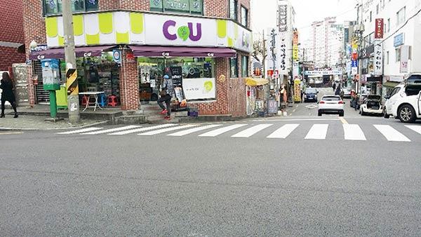 韓国では有名なコンビニ「C&U」