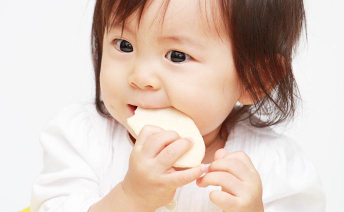 赤ちゃんのおやつ・離乳後の子供に人気があった食べ物