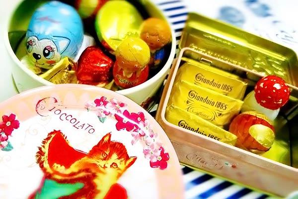 Caffarelのチョコレート
