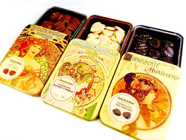 Chocolate Amatller(アマリエ)のリーフチョコレート