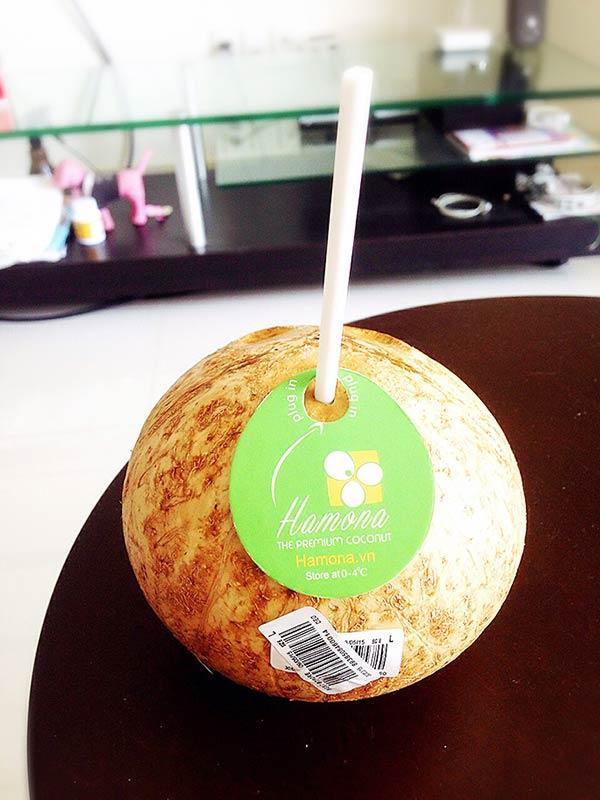 これがプレミアムココナッツです