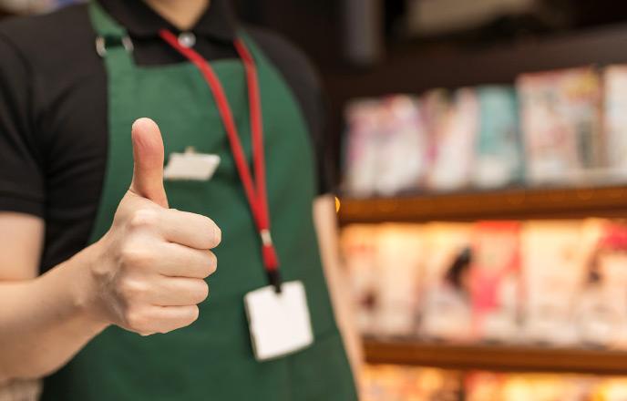 漫画喫茶の店員