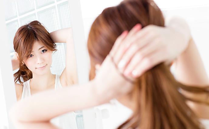 可愛い髪の毛の結び方・かわいい魅力100倍アップする髪型