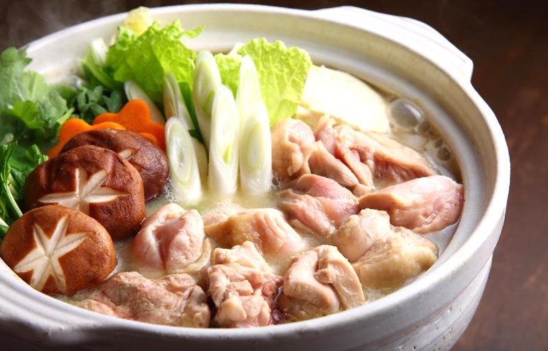 野菜と鶏肉の鍋