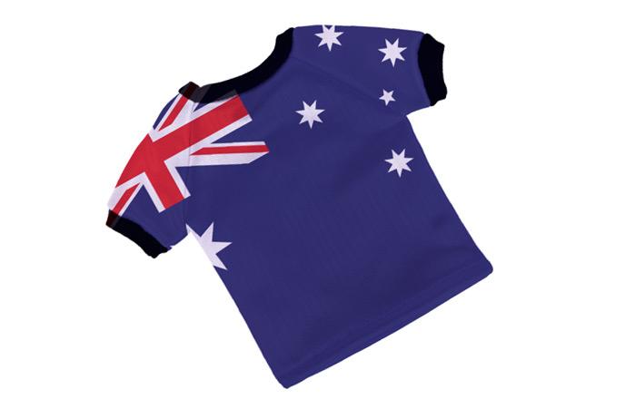 イギリス国旗のシャツ