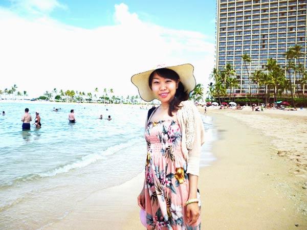 ハワイにいったら海ですよね