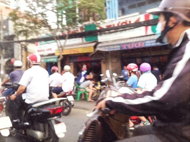 ベトナムの街の風景