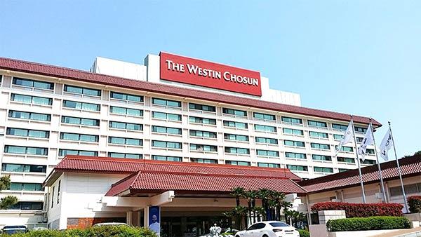 朝鮮ウェスティンホテル
